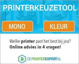 Printerkeuzetool van DePrinterexpert