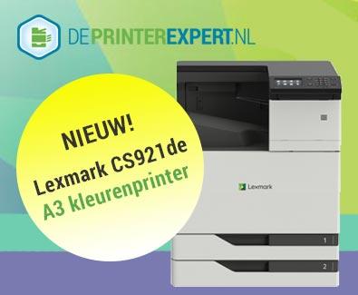 Nieuwe Lexmark CS921de A3 kleurenprinter