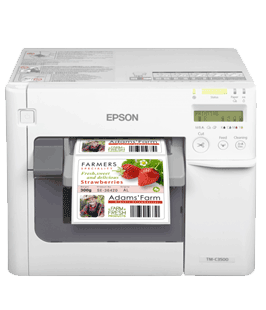 Epson ColorWorks C3500 kleuren labelprinter DePrinterexpert