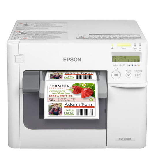 Epson kleuren labelprinter ColorWorks C3500