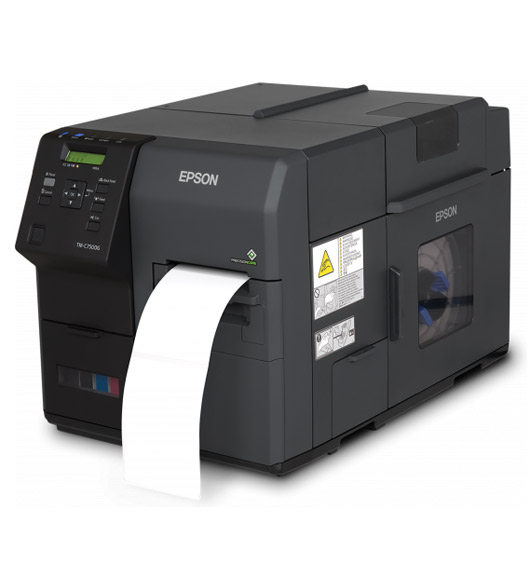 Epson kleuren labelprinter ColorWorks C7500