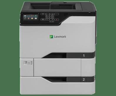 Lexmark CS720dte DePrinterexpert